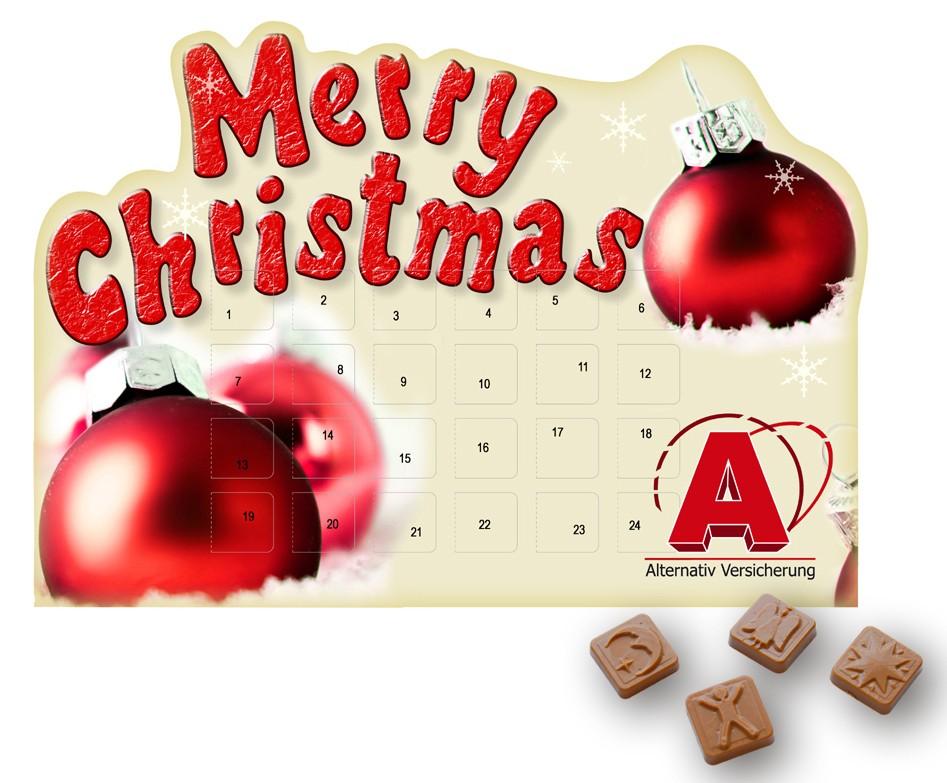 Merry Christmas - Tischadventskalender