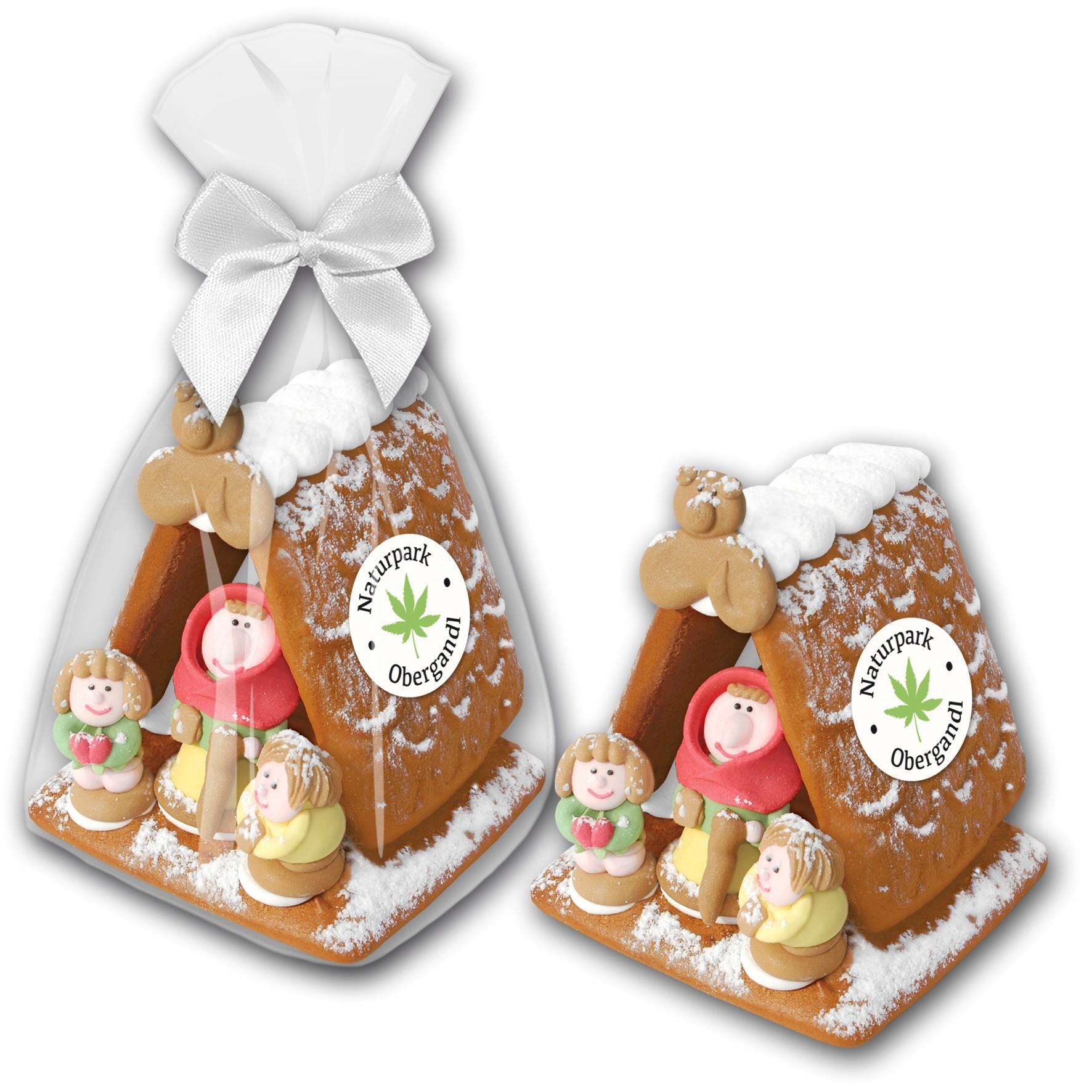 Lebkuchenhaus midi Zuckerhexe