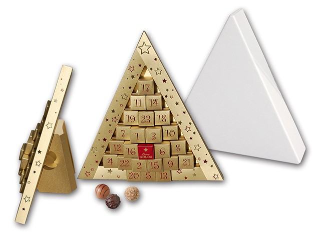 Trüffel Dreieck - Adventskalender