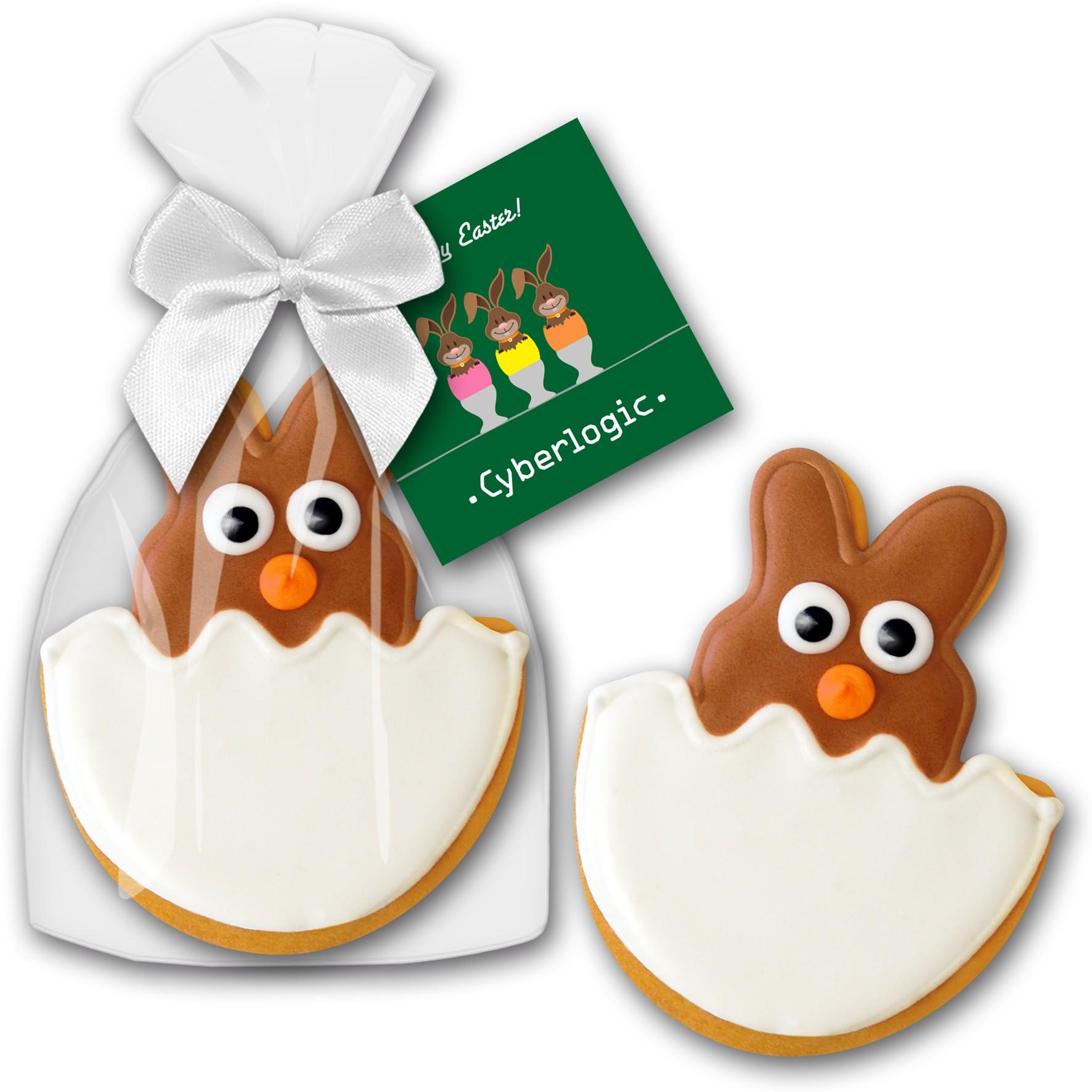 Cookie Hase aus dem Ei