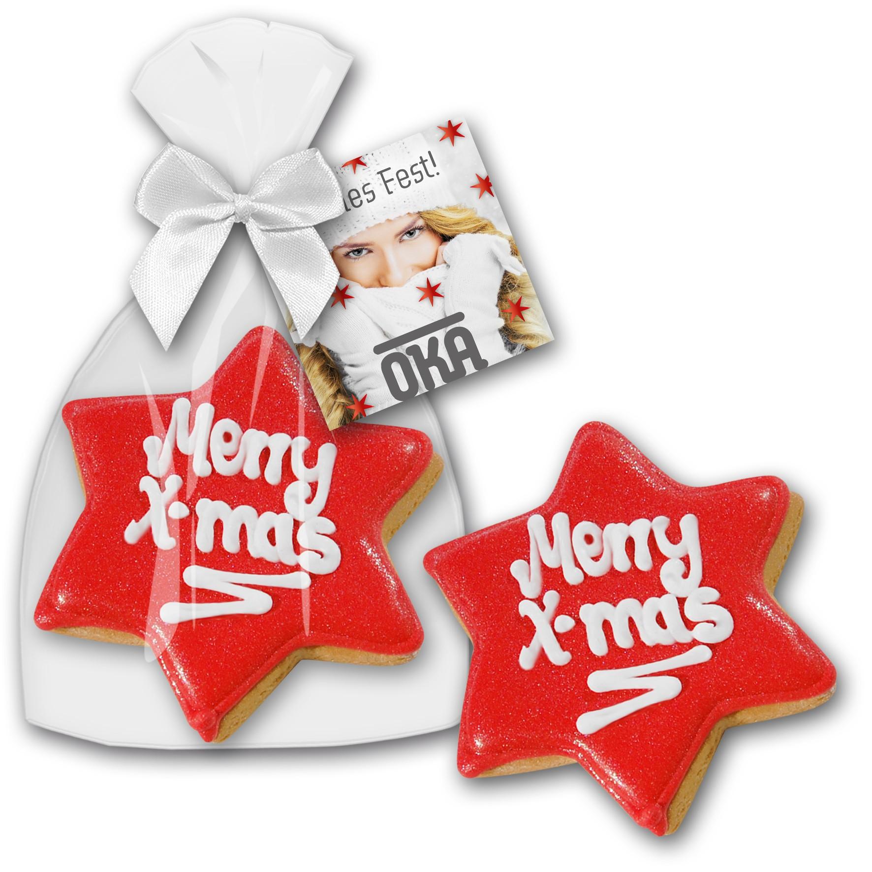 Cookie Weihnachtsstern