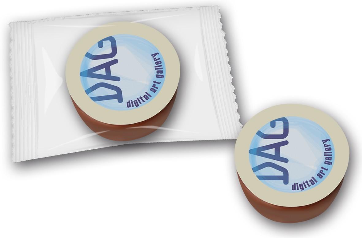 Trüffeltöpfchen mit Logo