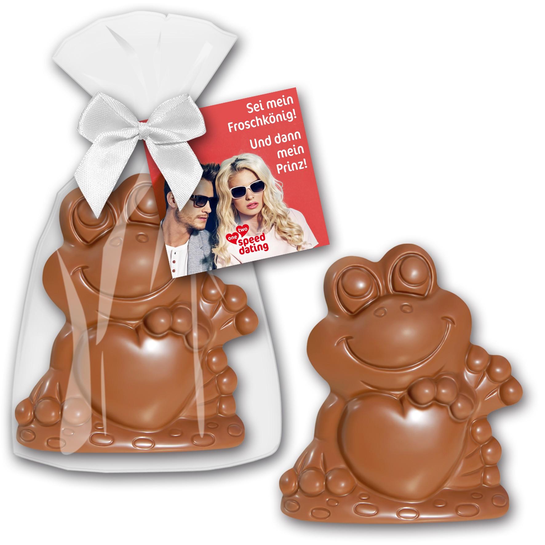 Schokoladen - Frosch