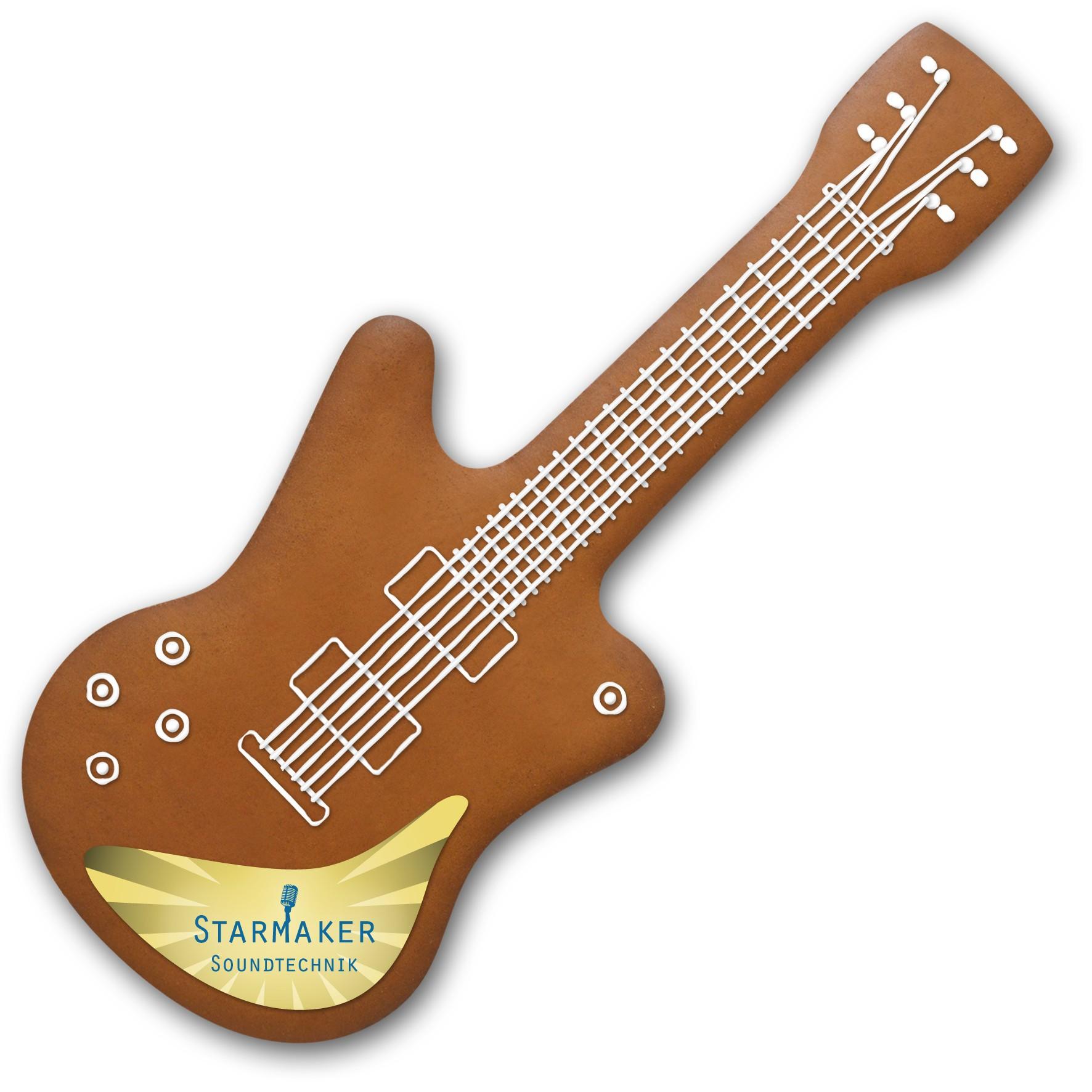 Lebkuchen Gitarre