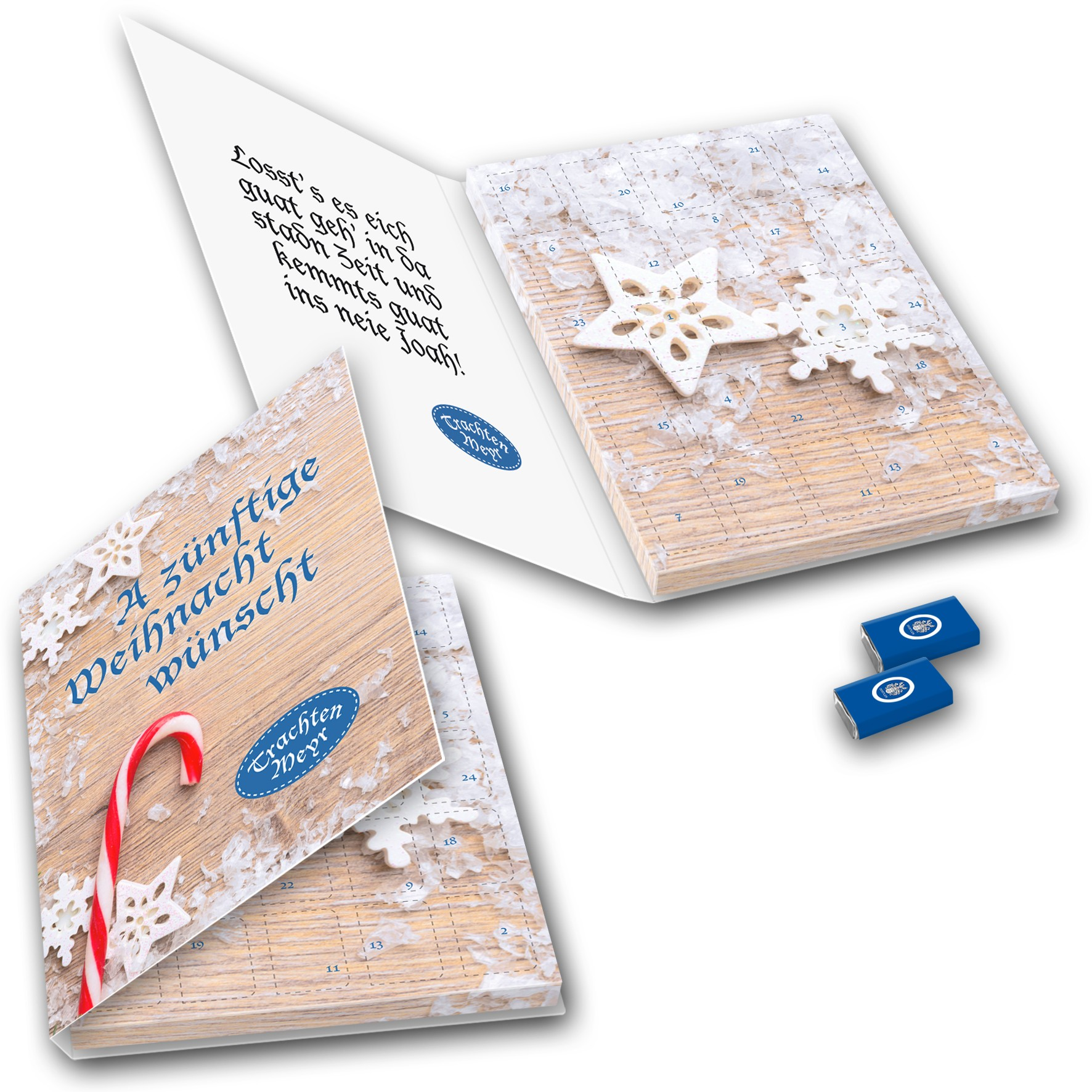 Dostler Adventskalender Buch Großbriefformat