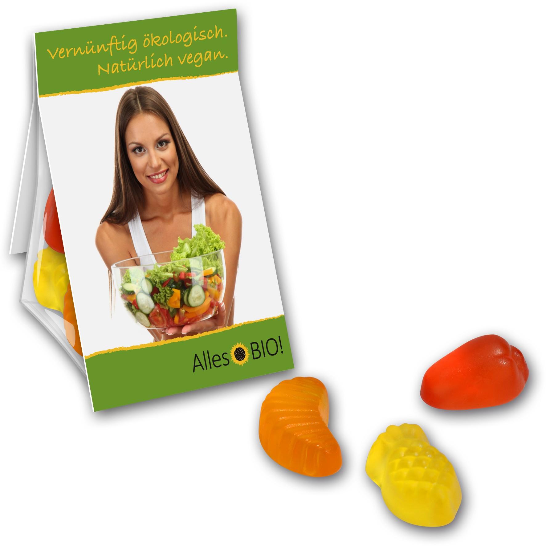 Vegane Fruchtgummi im Promobag