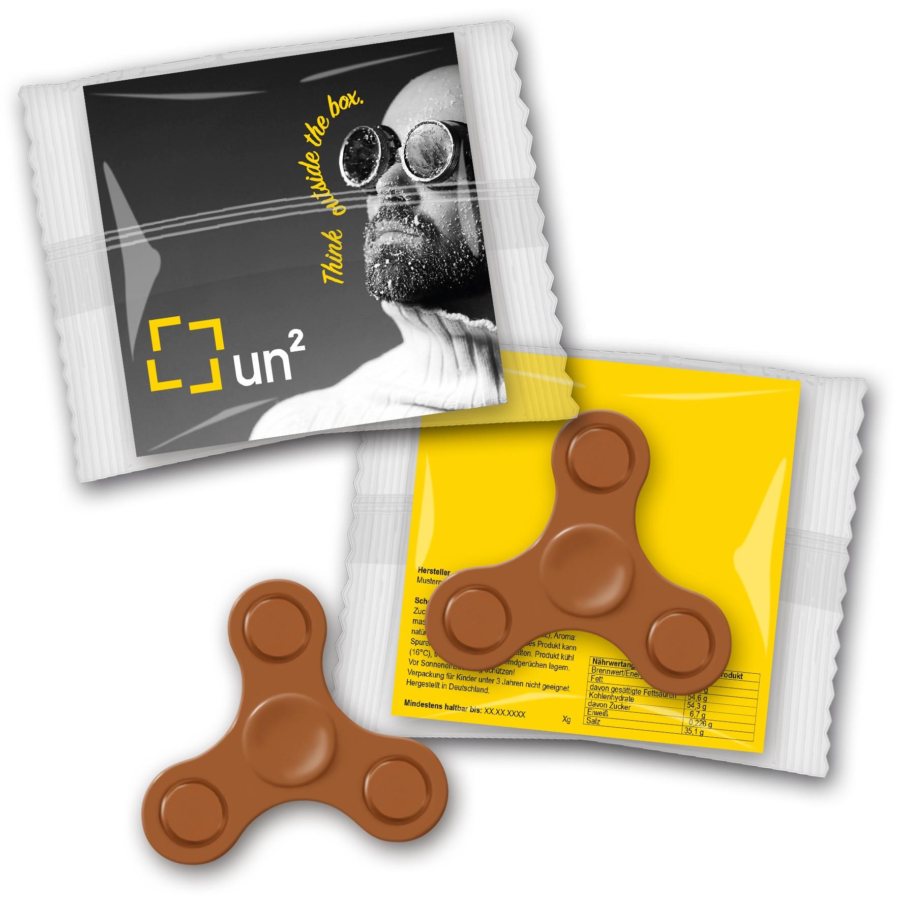 Fidget Spinner Schokolade