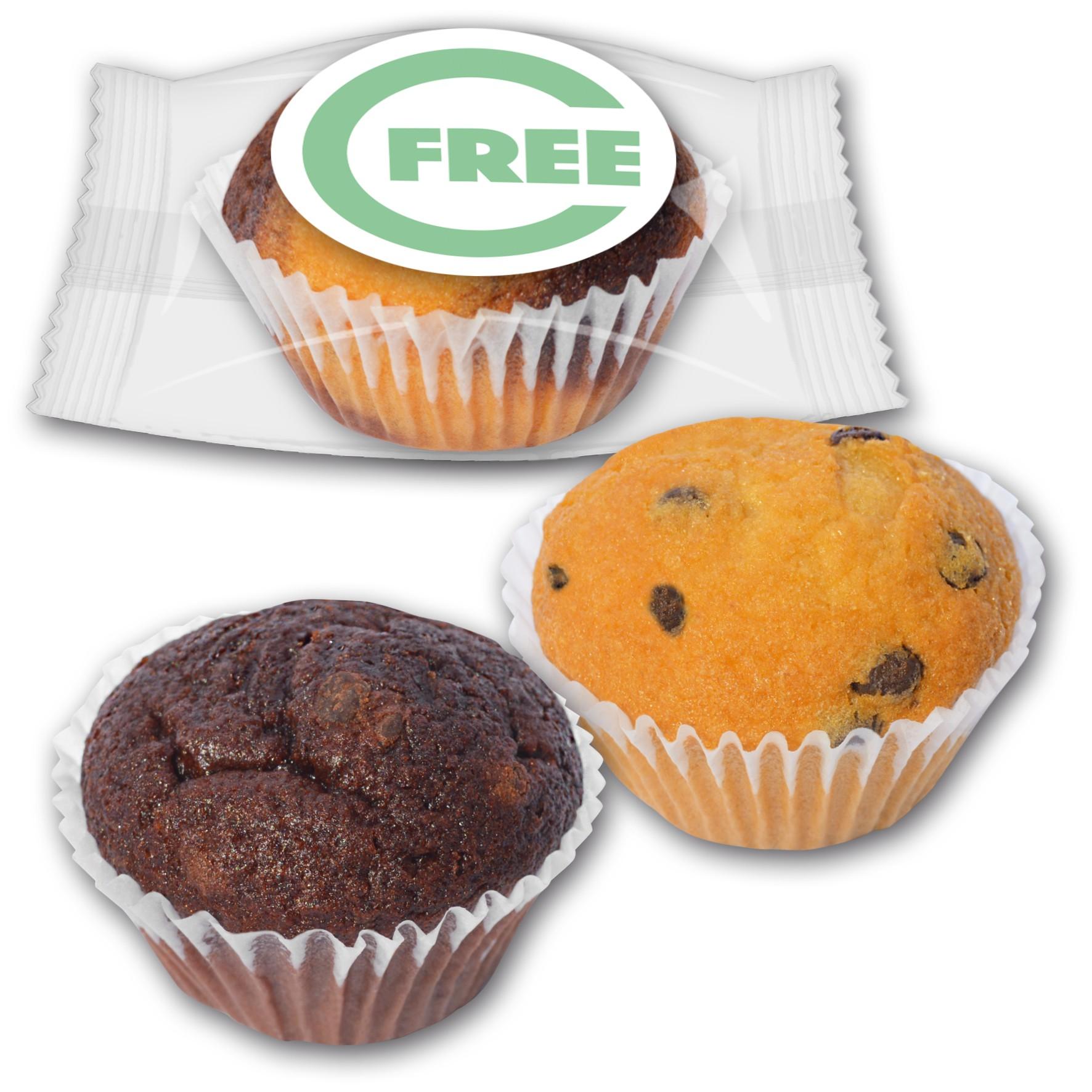 Muffin Mini mit Logo