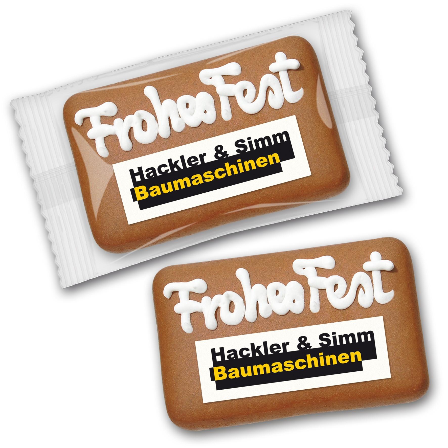 Lebkuchen - Card mit Logo