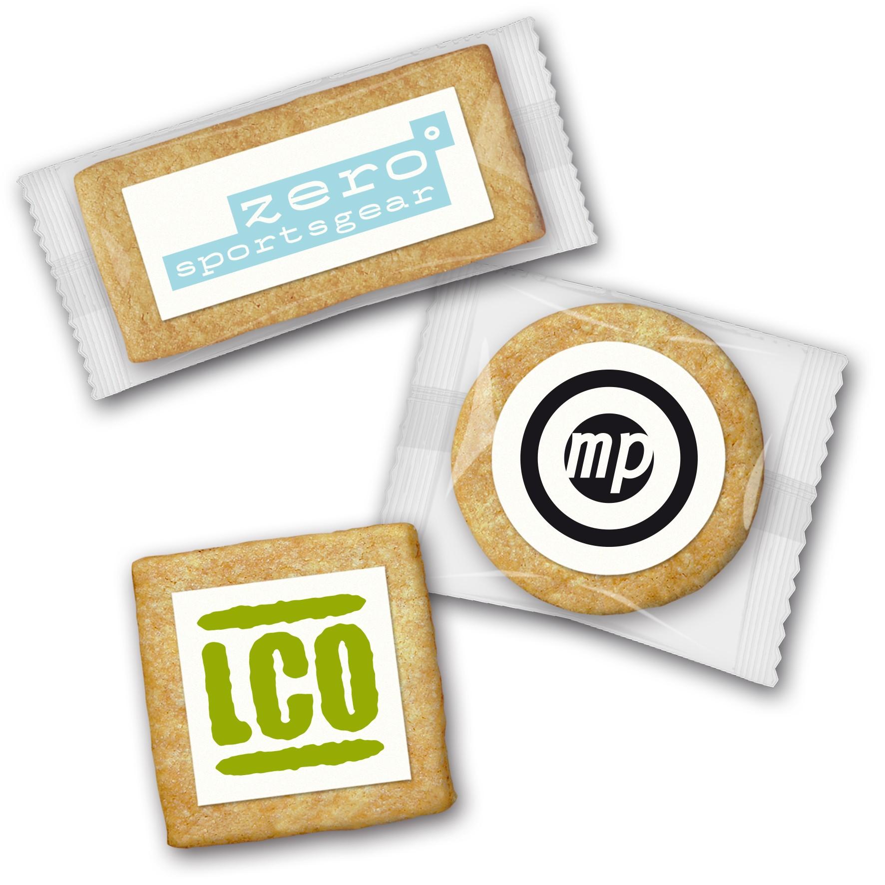 Cookie mit Logo klein