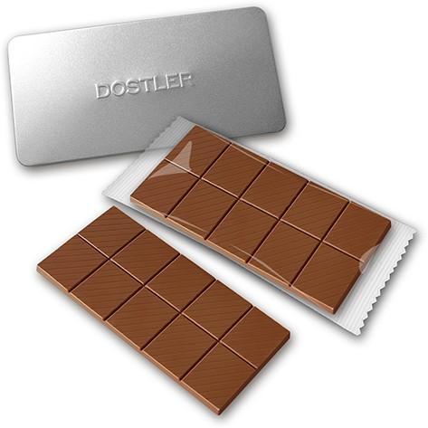 Schokoladentafel in Dose