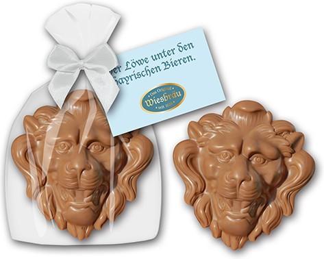 Löwe aus Schokolade