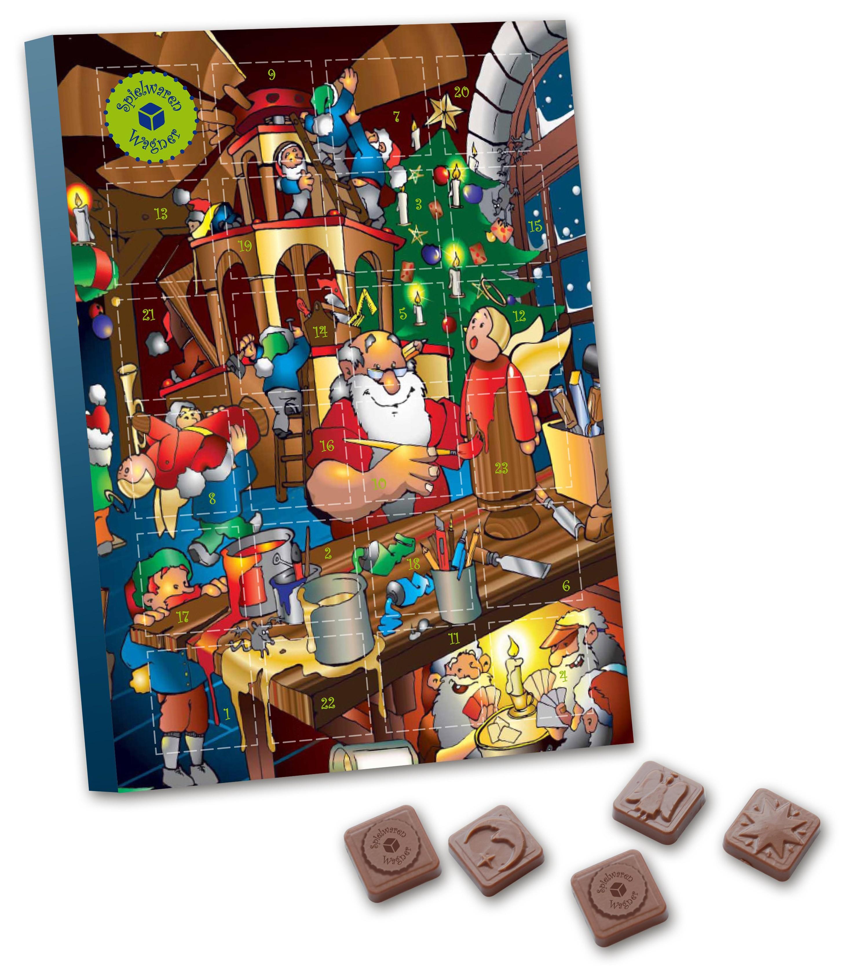 A4 Schokoladensonderform Tischkalender