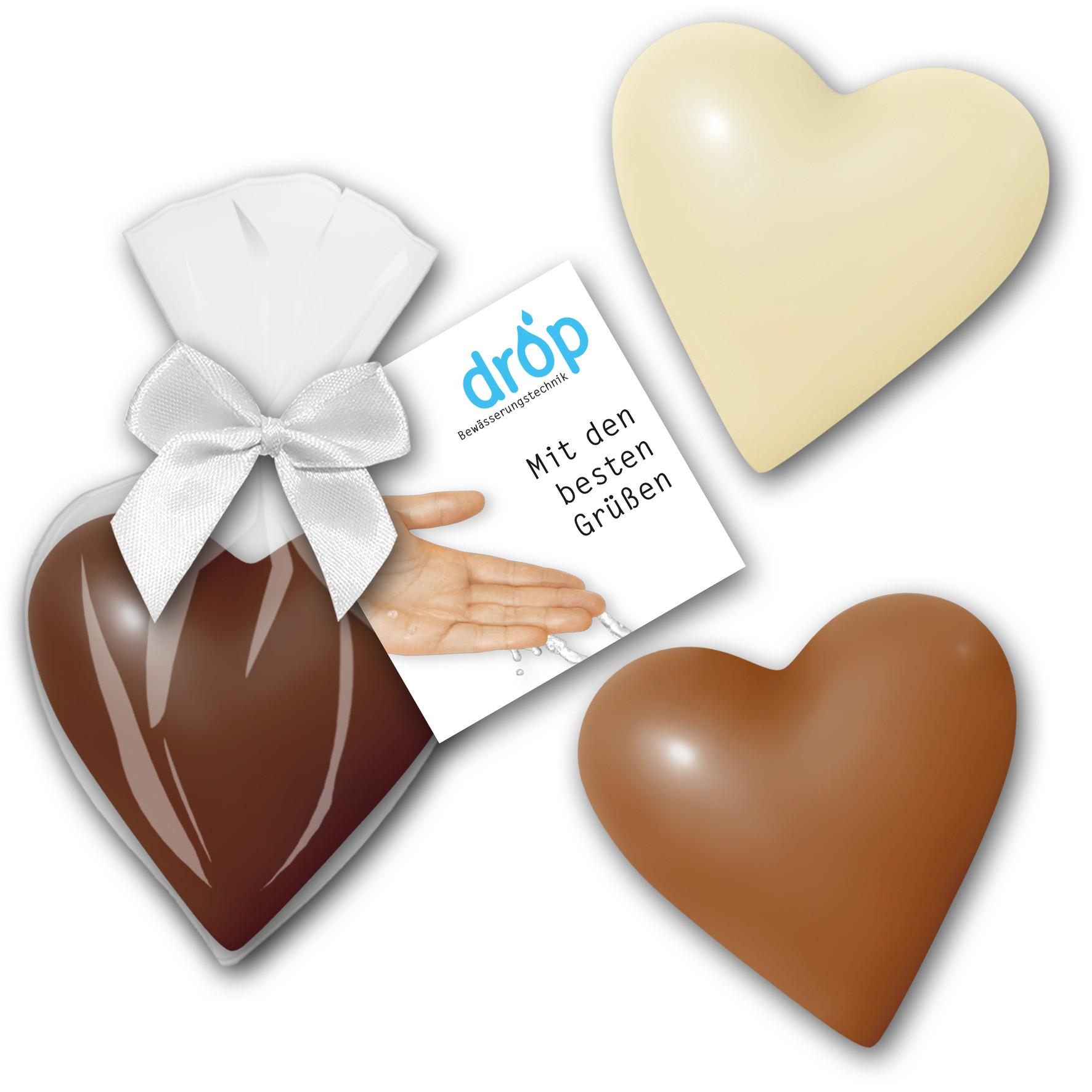 Schokoladenherz klein