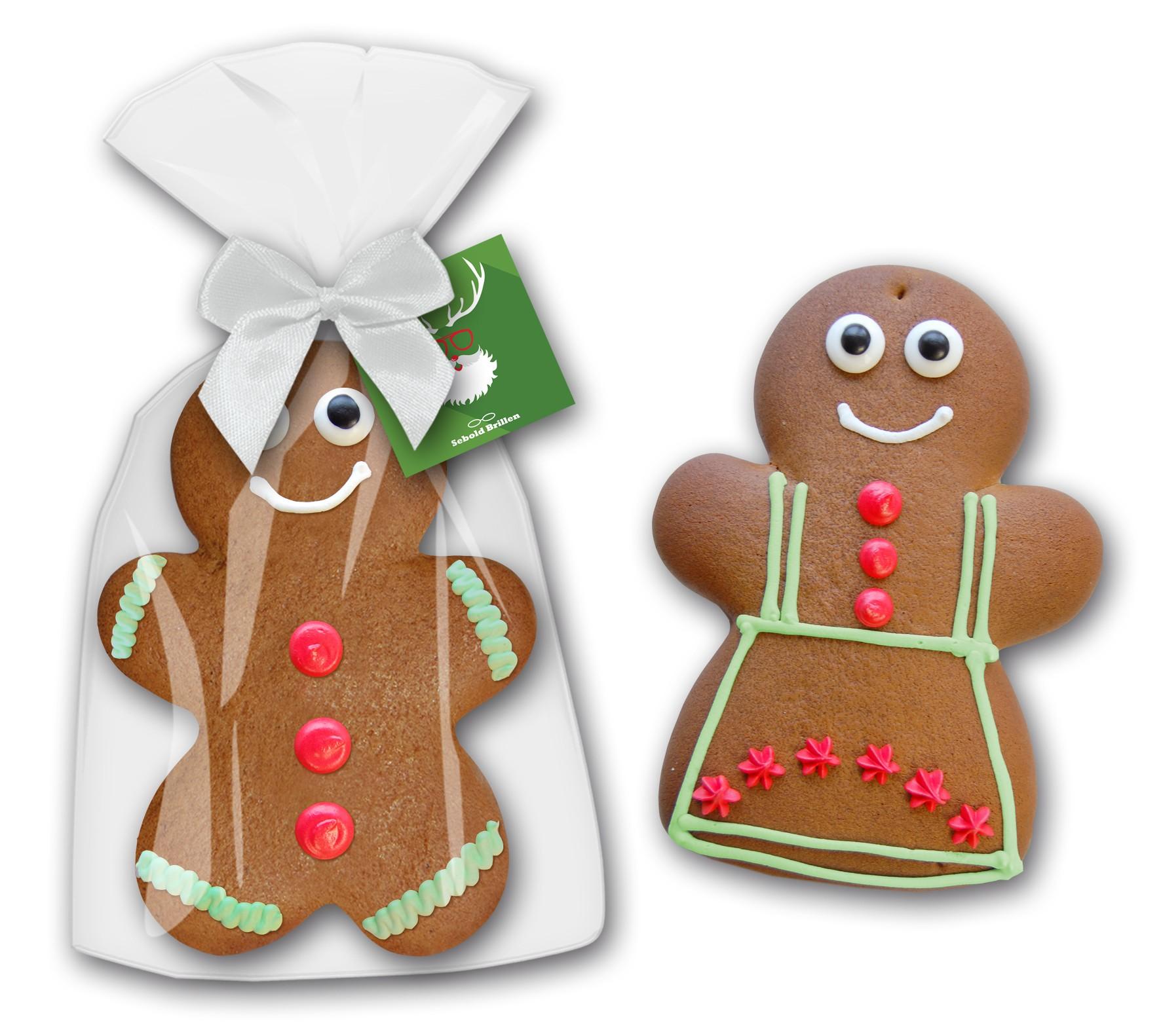 Lebkuchenmann oder Frau groß