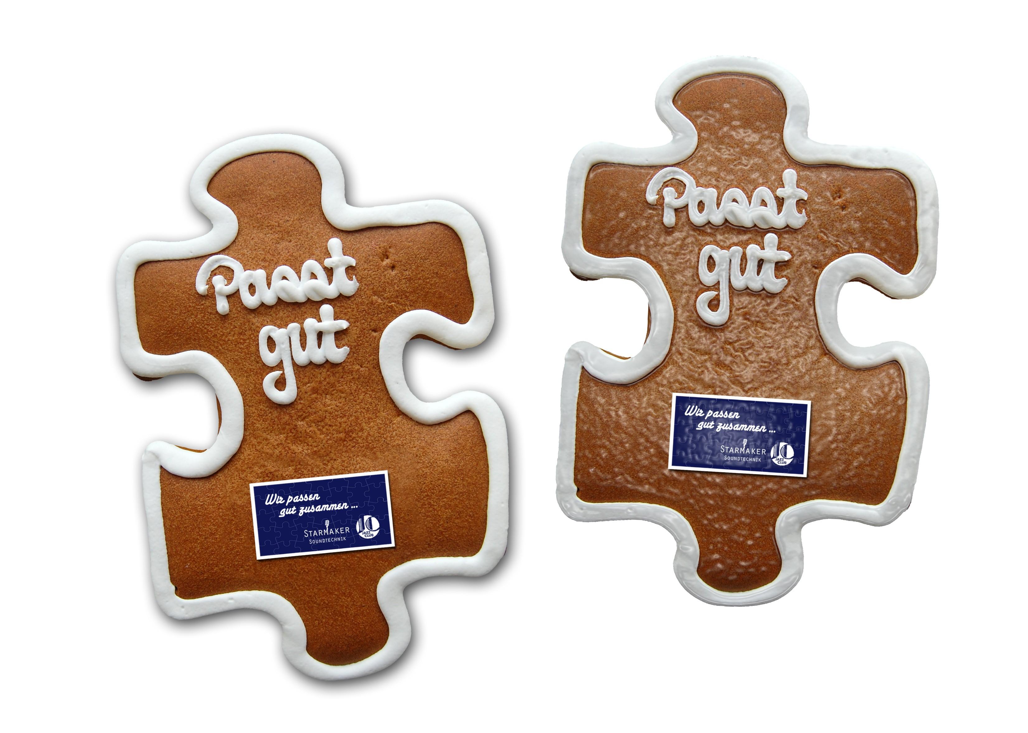 Lebkuchen - Puzzle groß