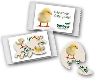 Osterei – Oblatenpuzzle klein