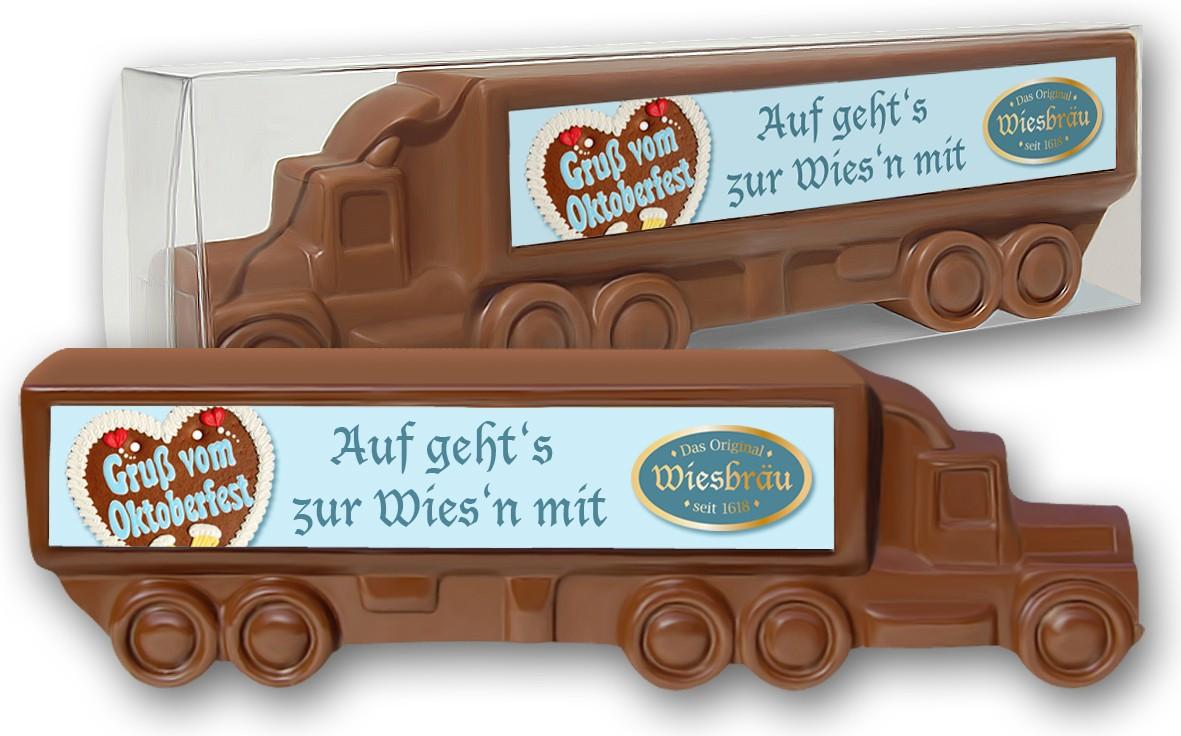 Schokoladentruck bedruckt