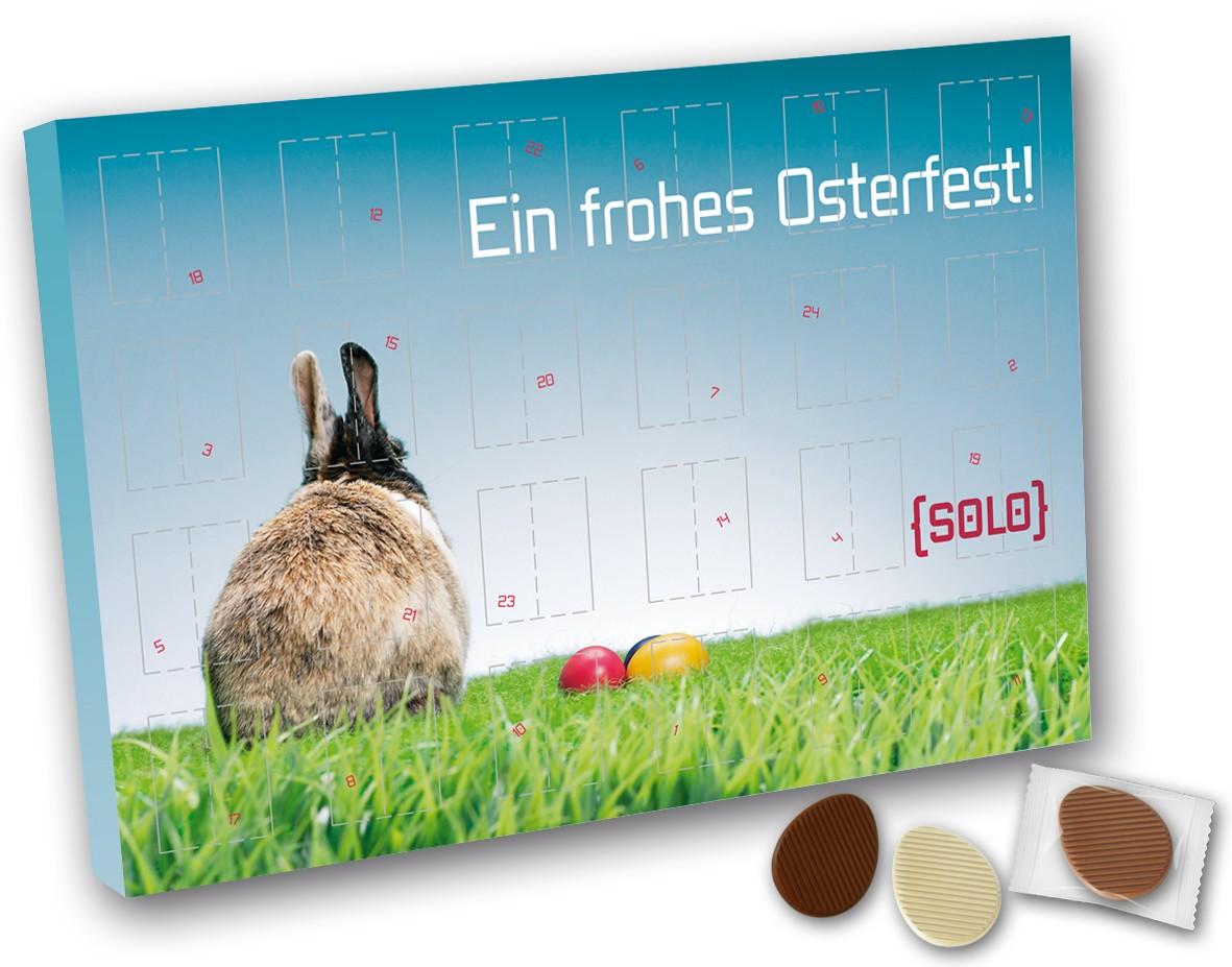 Countdownkalender Ostern mit Schokoeier