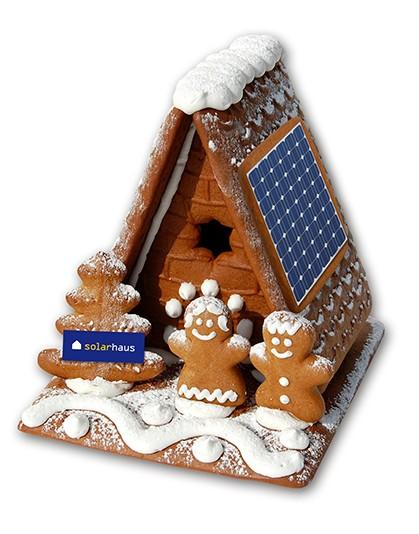 Lebkuchen - SOLAR - Haus