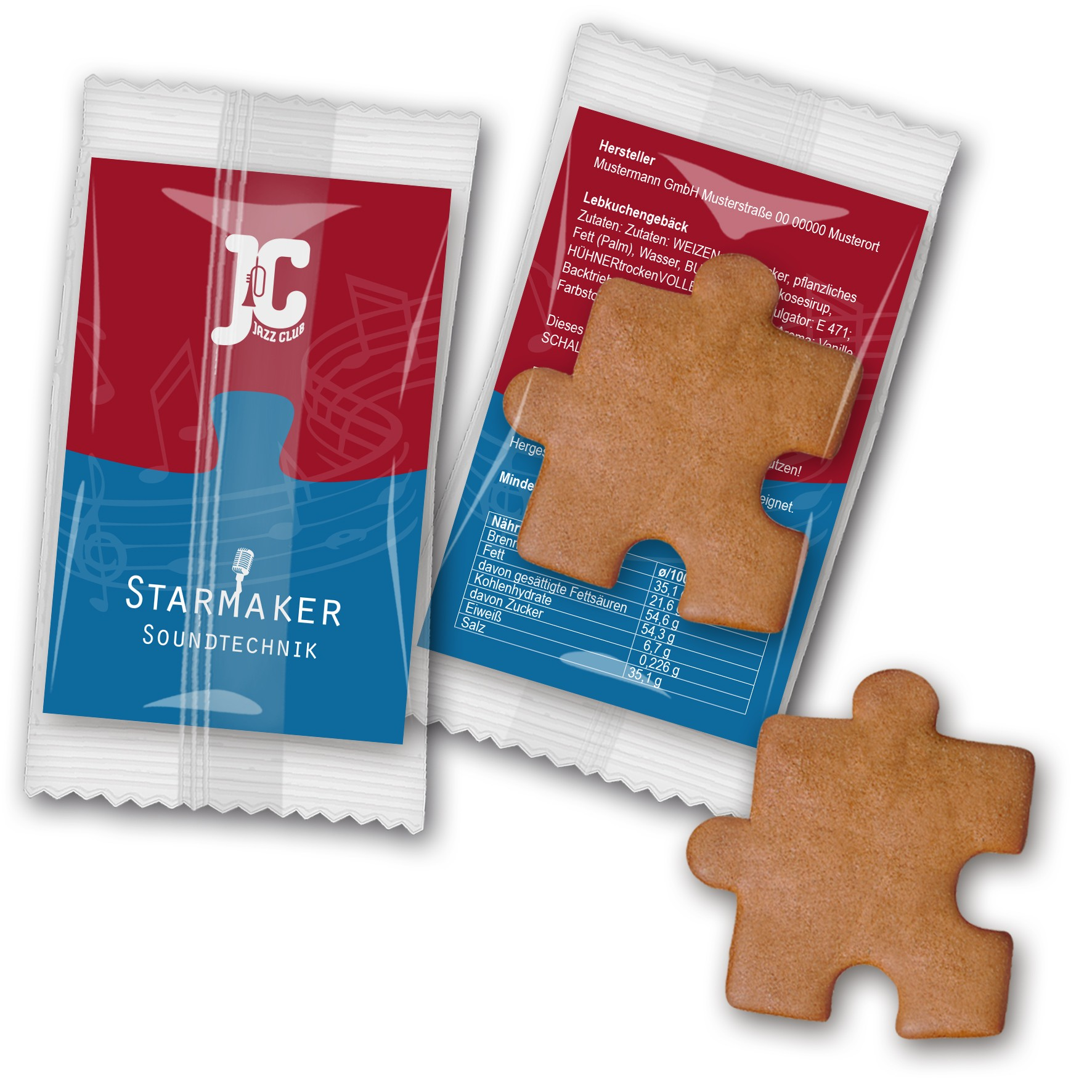 Lebkuchen - Puzzle