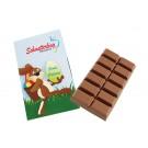 Schokoladentafel 55g im Karton