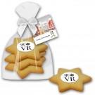 Cookie Sterne mit Logo