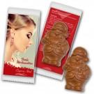 Weihnachtsmann Schokolade individuell