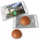 Schokoladenfußball Werbung