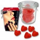 Weckglas mit Herzen Fruchtgummi