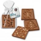 Weihnachtsschokolade mit Logo