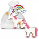 Cookie Einhorn mit Logo