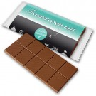 Schokoladentafel mit Banderole
