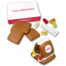 Kleinstes Lebkuchenhaus der Welt Bastelkit Logo