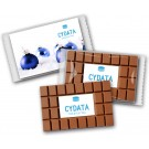 Schokoladentafel mit Logo
